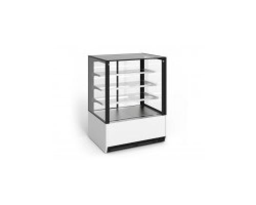 Кондитерская холодильная витрина EQTA ВПВ 0,31-1,44 Gusto К 1000 Д RAL 9001