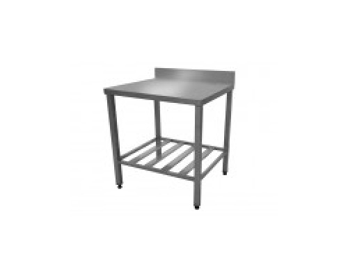 Разборный нейтральный стол EKSI СТр-1000х600х860 Б с бортом
