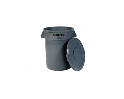 Бак для отходов Rubbermaid FG262000GRAY в комплекте с крышкой