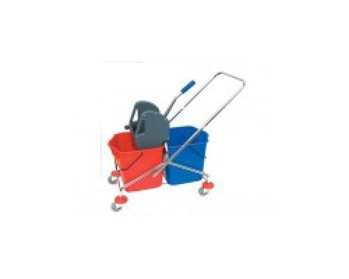 Тележка для уборки Bol Equipment Тележка двухведерная с отжимом  AF08072