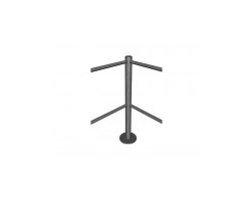 Калитка/стойка ограждения МДМ Столбик угловой, 4 отверстия