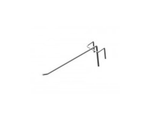 Стойка/стенд/сетка из металлической сетки Гефест Крючок штыревой 175 мм