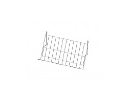 Стойка/стенд/сетка из металлической сетки Гефест Полка наклонная 70°