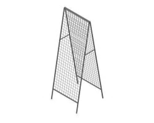Стойка/стенд/сетка из металлической сетки Гефест Стенд шалаш 1830х630